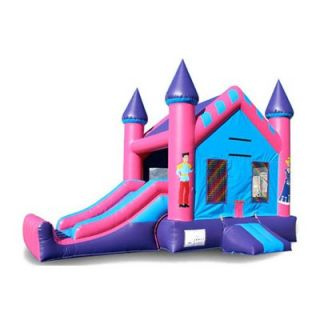 EZ Inflatables 22 ft. Mini Princess Combo Bounce House   Commercial Inflatables