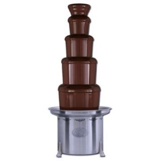 Sephra 44 Inch Stainless Steel Commercial Chocolate Fountain   Chocolate Fountains