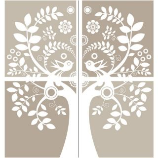 Love Birds Large Wall Art Kit   Wall Decals