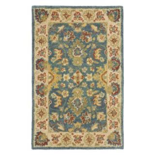 Safavieh Antiquities AT15A Area Rug   Blue/Beige   Area Rugs