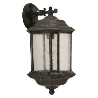 Sea Gull Kent Outdoor Wall Lantern   14.25H in. Oxford Bronze   Outdoor Wall Lights