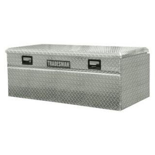 Tradesman Full size 60 in. Single Lid Wide Design Flush Mount Truck Tool Box   Truck Tool Boxes