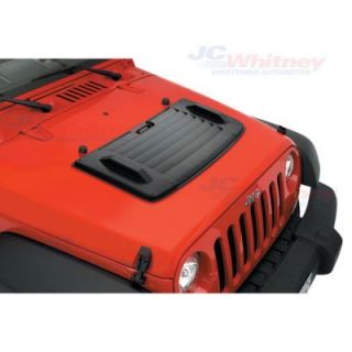 2007 2013 Jeep Wrangler (JK) Hood Trim Kit   Bestop, Direct fit, Plastic, Black