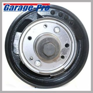 1995 2009 Mitsubishi Eclipse Harmonic Balancer   Garage Pro, Direct fit, Steel, Double serpentine belt type; 7.1 in. diameter; 2.1 in. width