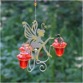 Avant Garden Fairy Dust Hummingbird Feeder   Bird Feeders