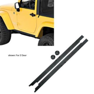 2007 2011 Jeep Wrangler (JK) Rocker Panel Trim   Bestop, Bestop Highrock 4x4