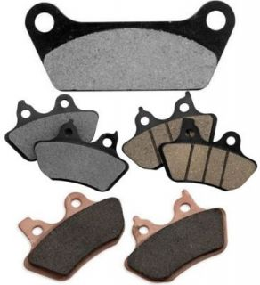 1984 1987 Harley Davidson FXST/I Softail Standard Brake Pad Set   Bikers Choice, Direct fit, Rear, Kevlar