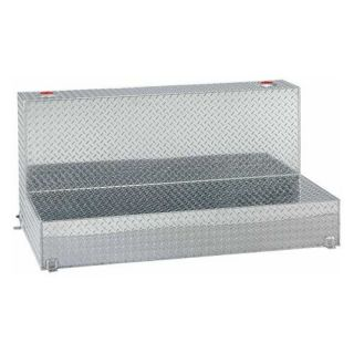Tradesman 92 Gallon Aluminum L Shaped Storage Tank   Truck Tool Boxes