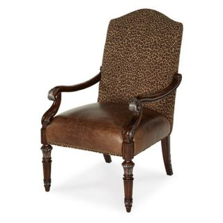 Aico Monte Carlo II Collection Wood Chair   Brown   Accent Chairs