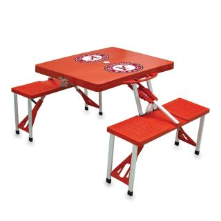 Folding Picnic Table With College Football Team Logo   Picnic Tables