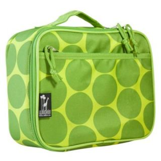 Wildkin Big Dots Green Lunch Box   Travel Accessories
