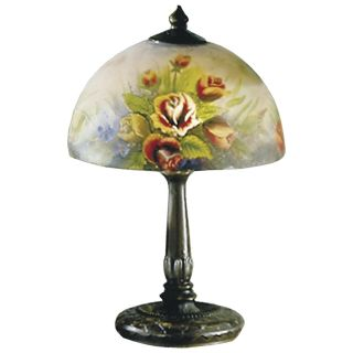 Dale Tiffany Rose Dome Table Lamp   Tiffany Table Lamps