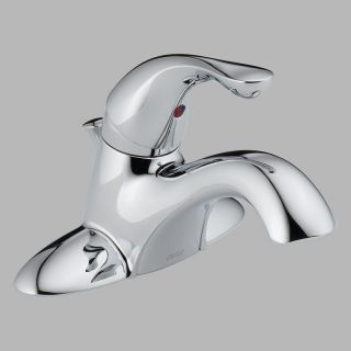 Delta Classic 520 PPU Single Handle Centerset Bathroom Sink Faucet   Bathroom Sink Faucets