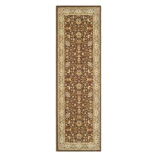 Safavieh Tuscany TUS303 2560 Area Rug   Brown/Light Blue   Area Rugs