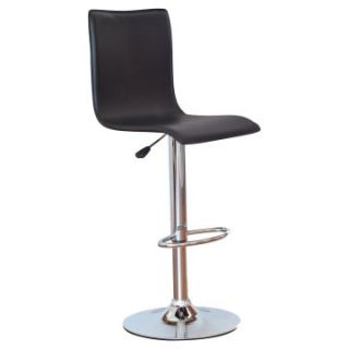 Winsome Wood Adjustable Single Curve Back Air Lift Swivel Bar Stool   Bistro Chairs