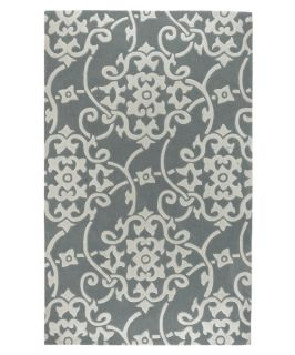 Surya Cosmopolitan COS 8828 Area Rug   Silver Grey/White   Area Rugs