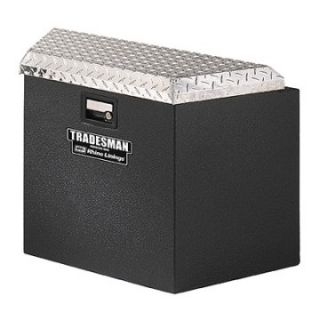 Tradesman Steel Trailer Tongue Box with Rhino Lining   Truck Tool Boxes