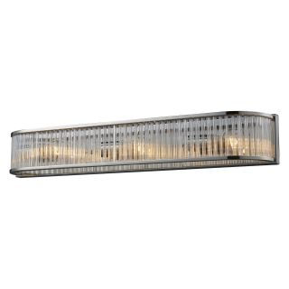 Elk Lighting Braxton Vanity Light Bar   Polished Nickel   Bathroom Lighting