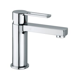 WS Bath Collections Ringo 071 CR Single Hole Bathroom Faucet   Bathroom Sink Faucets