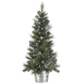 Vickerman Frost White Mix Tip Christmas Tree   Christmas Trees