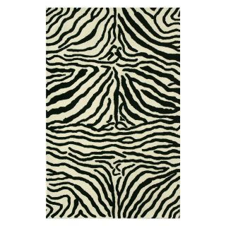 Noble House Safari Area Rug   Black/White   Area Rugs