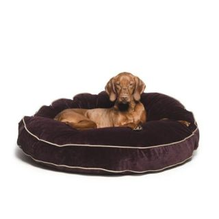 Bowsers Diamond Series Cotton Super Soft Round Dog Bed   Dog Beds