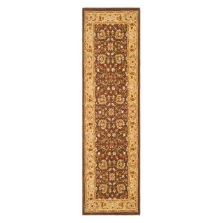Safavieh Tuscany TUS305 2520 Area Rug   Brown/Gold   Area Rugs
