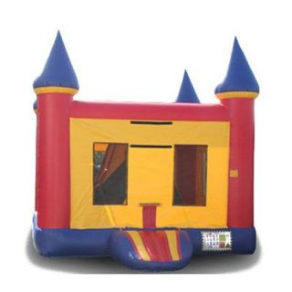EZ Inflatables Mini 5 N 1 Castle Combo Bounce House   Commercial Inflatables