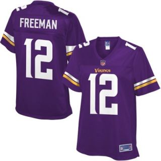 Pro Line Womens Minnesota Vikings Josh Freeman Team Color Jersey   Purple