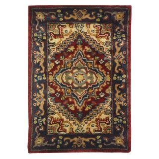 Safavieh Classic CL225A Area Rug   Black/Red   Area Rugs