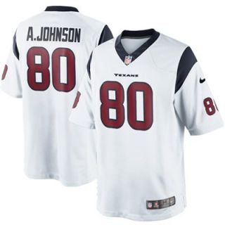Nike Andre Johnson Houston Texans Limited Jersey   White
