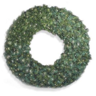 72 in. Pre lit Christmas Wreath   Christmas Wreaths