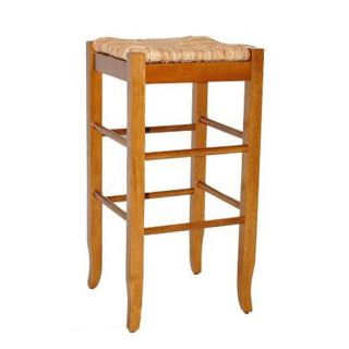 Boraam Square Rush Bar Stool   29 in.   Bar Stools