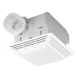 Broan Nutone HD50L Heavy Duty Ventilation Fan / Light   Bathroom Lighting