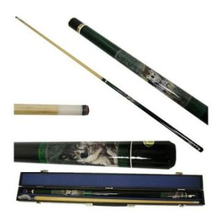 Gray Wolf Billiard Pool Cue Stick with Case   Pool Cues
