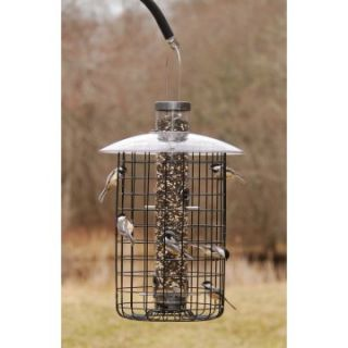 Droll Yankee 20 in. 6 Port Domed Sunflower Tube Cage Feeder   Bird Feeders