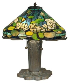 Dale Tiffany Water Lily Tiffany Replica Table Lamp   19.5W in.   Tiffany Table Lamps
