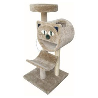 Molly and Friends Bed/Cave and Cradle Cat Tree   54 in.   Cat Trees