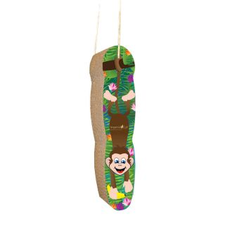 Monkey Hanging Scratch n Shape   Cat Scratching Posts