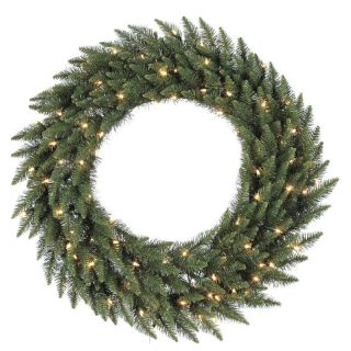72 in. Camdon Fir Pre lit Christmas Wreath   Christmas Wreaths