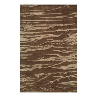 Momeni Zen ZEN 2 Area Rug   Brown   Area Rugs