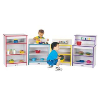 Jonti Craft Rainbow Accents Toddler Kitchen   Set of 4   Play Kitchens & Grills