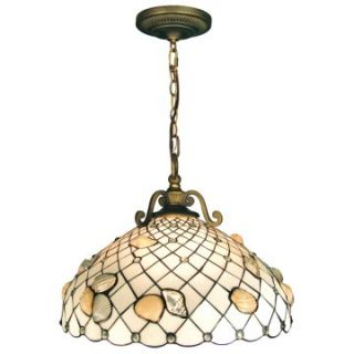 Dale Tiffany Shell Pendant   Tiffany Ceiling Lighting