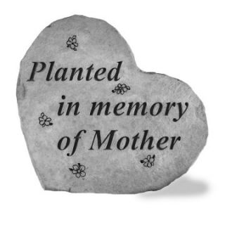 Planted In Memory Of Mother Memorial Stone Marker   Garden & Memorial Stones