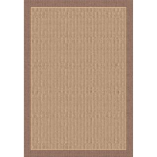 Dynamic Rugs Piazza Waffle Indoor/Outdoor Area Rug   Brown   Rugs