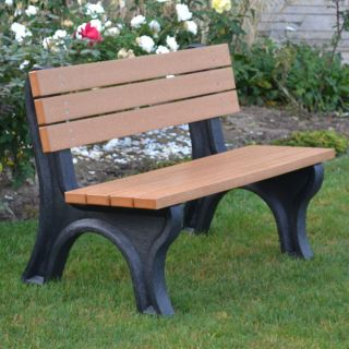 Deluxe Commercial Grade Park Bench   Outdoor Benches