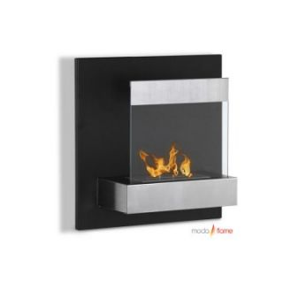 Moda Flame Madrid Wall Mount Fireplace   Gel Fireplaces