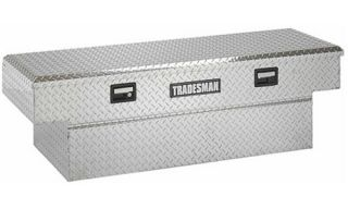 Tradesman Full size Single Lid Aluminum Flush Mount Truck Tool Box   Truck Tool Boxes