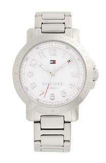 Tommy Hilfiger Logo Bezel Bracelet Watch, 38mm