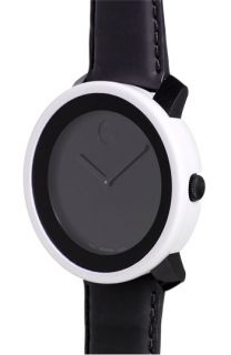 Movado Large Bold Watch & White Case Cover